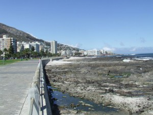 Uferpromenade Sea Point,Seapromenade Green Point,Kapstadt