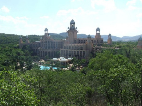 Palace of lost city in Sun City