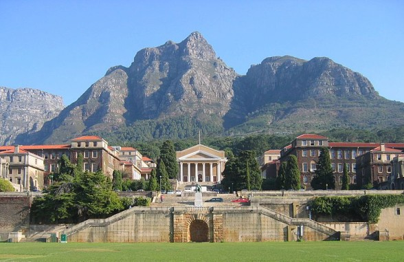 Der Haupt-Campus der UCT (University of Cape Town)