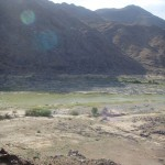 Wuestenlandschaft am Orange River
