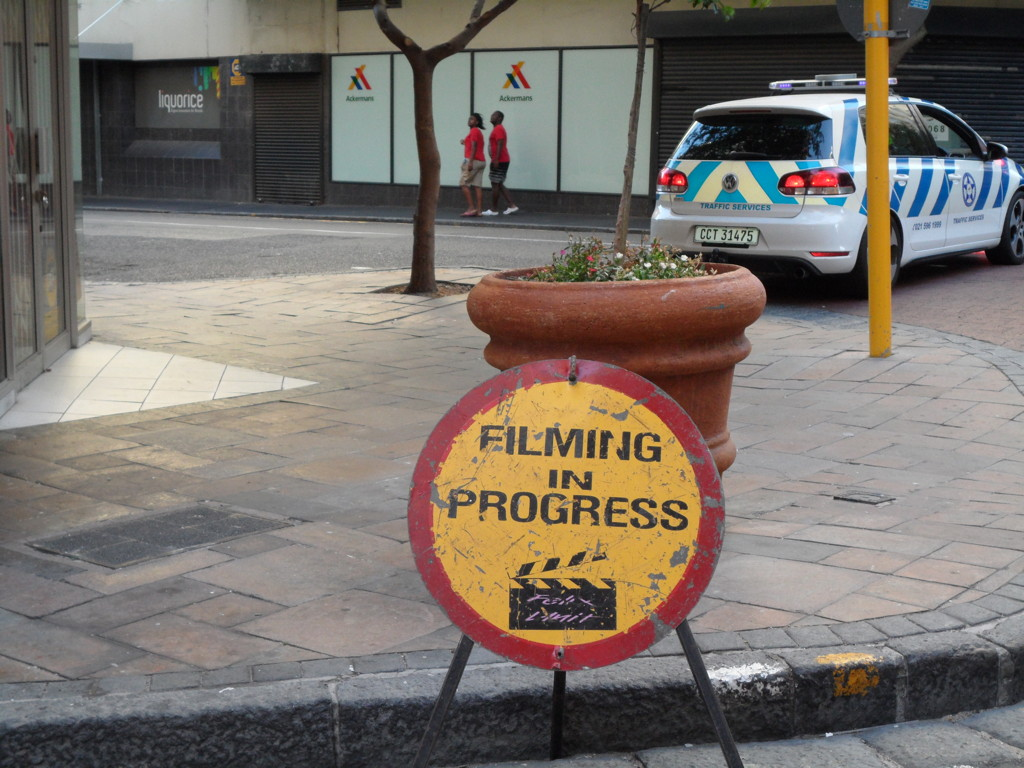 Kapstadt, das Hollywood Afrikas? Filming in Progress – Business as usual