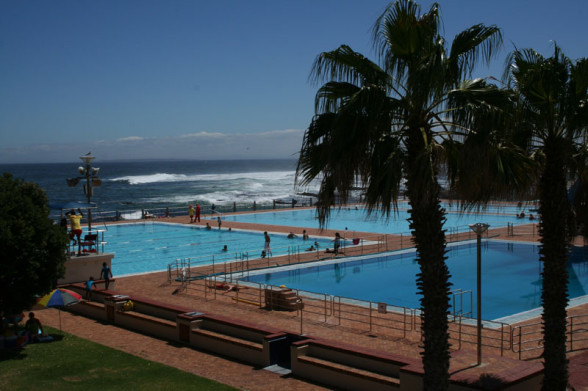 Freibad von Sea Point