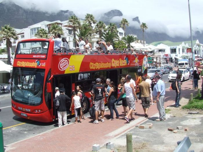 roter Bus
