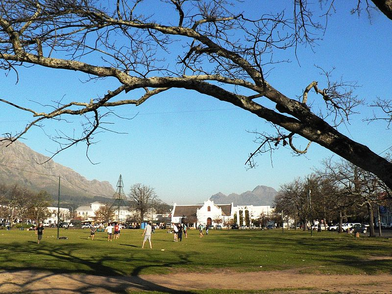 The Braak in Stellenbosch (Andrew Hall Wikimedia CC BY-SA 3.0)